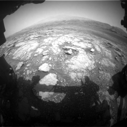 Nasa's Mars rover Curiosity acquired this image using its Front Hazard Avoidance Camera (Front Hazcam) on Sol 2958, at drive 360, site number 84