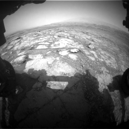 Nasa's Mars rover Curiosity acquired this image using its Front Hazard Avoidance Camera (Front Hazcam) on Sol 2958, at drive 384, site number 84