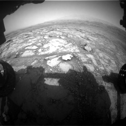 Nasa's Mars rover Curiosity acquired this image using its Front Hazard Avoidance Camera (Front Hazcam) on Sol 2958, at drive 390, site number 84