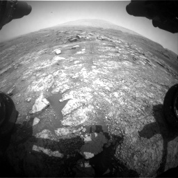 Nasa's Mars rover Curiosity acquired this image using its Front Hazard Avoidance Camera (Front Hazcam) on Sol 2958, at drive 234, site number 84