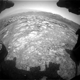 Nasa's Mars rover Curiosity acquired this image using its Front Hazard Avoidance Camera (Front Hazcam) on Sol 2958, at drive 252, site number 84