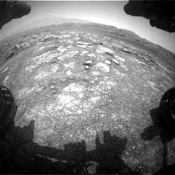 Nasa's Mars rover Curiosity acquired this image using its Front Hazard Avoidance Camera (Front Hazcam) on Sol 2958, at drive 258, site number 84