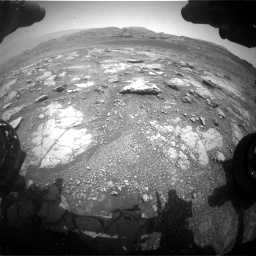 Nasa's Mars rover Curiosity acquired this image using its Front Hazard Avoidance Camera (Front Hazcam) on Sol 2958, at drive 288, site number 84