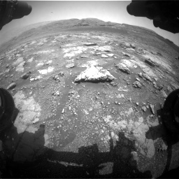 Nasa's Mars rover Curiosity acquired this image using its Front Hazard Avoidance Camera (Front Hazcam) on Sol 2958, at drive 294, site number 84