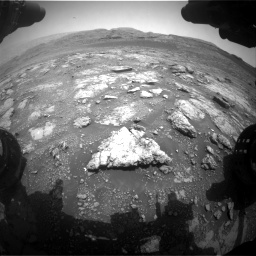 Nasa's Mars rover Curiosity acquired this image using its Front Hazard Avoidance Camera (Front Hazcam) on Sol 2958, at drive 300, site number 84