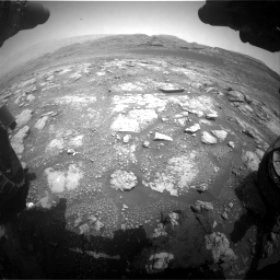 Nasa's Mars rover Curiosity acquired this image using its Front Hazard Avoidance Camera (Front Hazcam) on Sol 2958, at drive 306, site number 84
