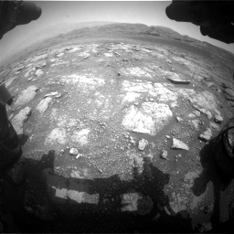 Nasa's Mars rover Curiosity acquired this image using its Front Hazard Avoidance Camera (Front Hazcam) on Sol 2958, at drive 312, site number 84