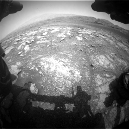 Nasa's Mars rover Curiosity acquired this image using its Front Hazard Avoidance Camera (Front Hazcam) on Sol 2958, at drive 324, site number 84