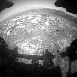 Nasa's Mars rover Curiosity acquired this image using its Front Hazard Avoidance Camera (Front Hazcam) on Sol 2958, at drive 330, site number 84