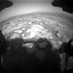 Nasa's Mars rover Curiosity acquired this image using its Front Hazard Avoidance Camera (Front Hazcam) on Sol 2958, at drive 396, site number 84