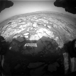 Nasa's Mars rover Curiosity acquired this image using its Front Hazard Avoidance Camera (Front Hazcam) on Sol 2958, at drive 402, site number 84