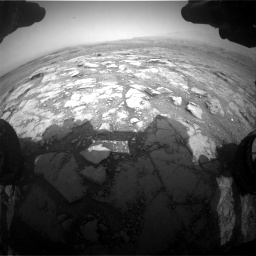 Nasa's Mars rover Curiosity acquired this image using its Front Hazard Avoidance Camera (Front Hazcam) on Sol 2958, at drive 408, site number 84