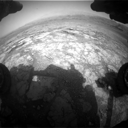 Nasa's Mars rover Curiosity acquired this image using its Front Hazard Avoidance Camera (Front Hazcam) on Sol 2958, at drive 426, site number 84
