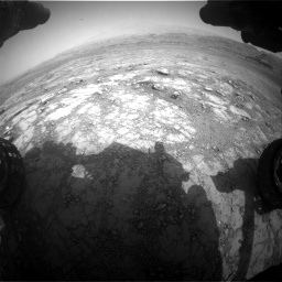 Nasa's Mars rover Curiosity acquired this image using its Front Hazard Avoidance Camera (Front Hazcam) on Sol 2958, at drive 432, site number 84