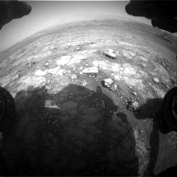 Nasa's Mars rover Curiosity acquired this image using its Front Hazard Avoidance Camera (Front Hazcam) on Sol 2958, at drive 438, site number 84