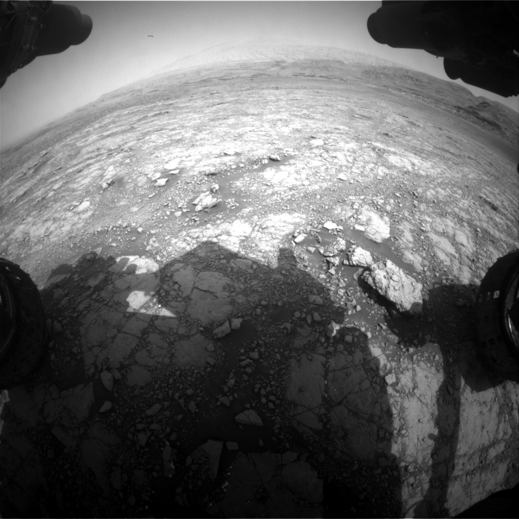 Nasa's Mars rover Curiosity acquired this image using its Front Hazard Avoidance Camera (Front Hazcam) on Sol 2958, at drive 444, site number 84