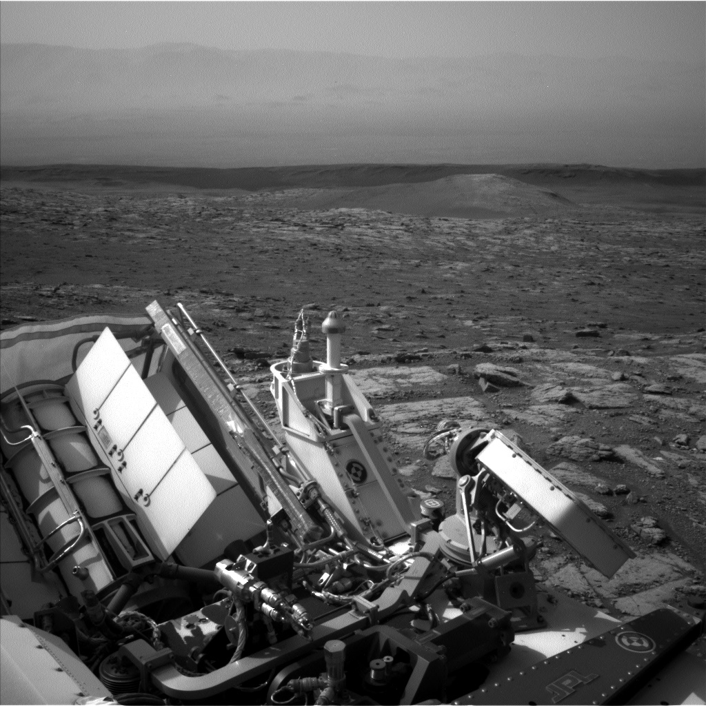 Nasa's Mars rover Curiosity acquired this image using its Left Navigation Camera on Sol 2958, at drive 444, site number 84