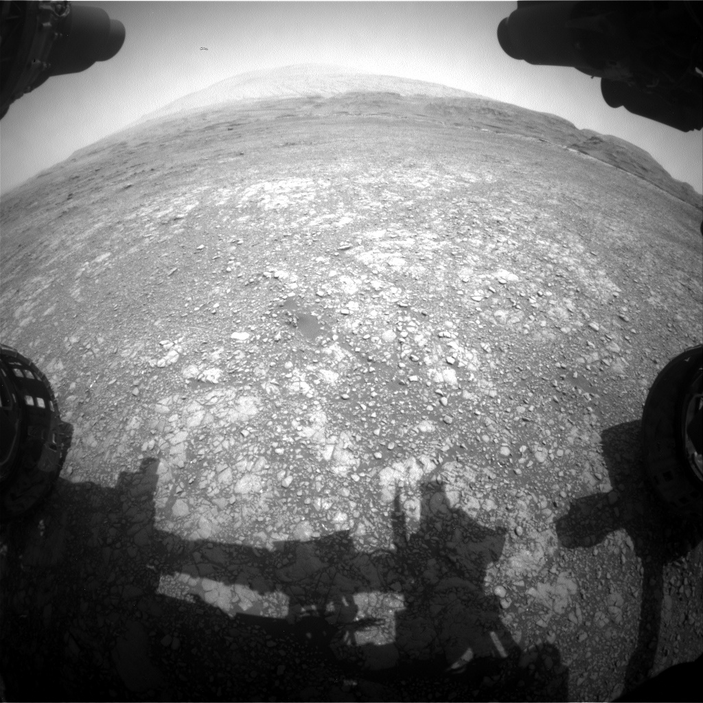 Nasa's Mars rover Curiosity acquired this image using its Front Hazard Avoidance Camera (Front Hazcam) on Sol 2959, at drive 540, site number 84