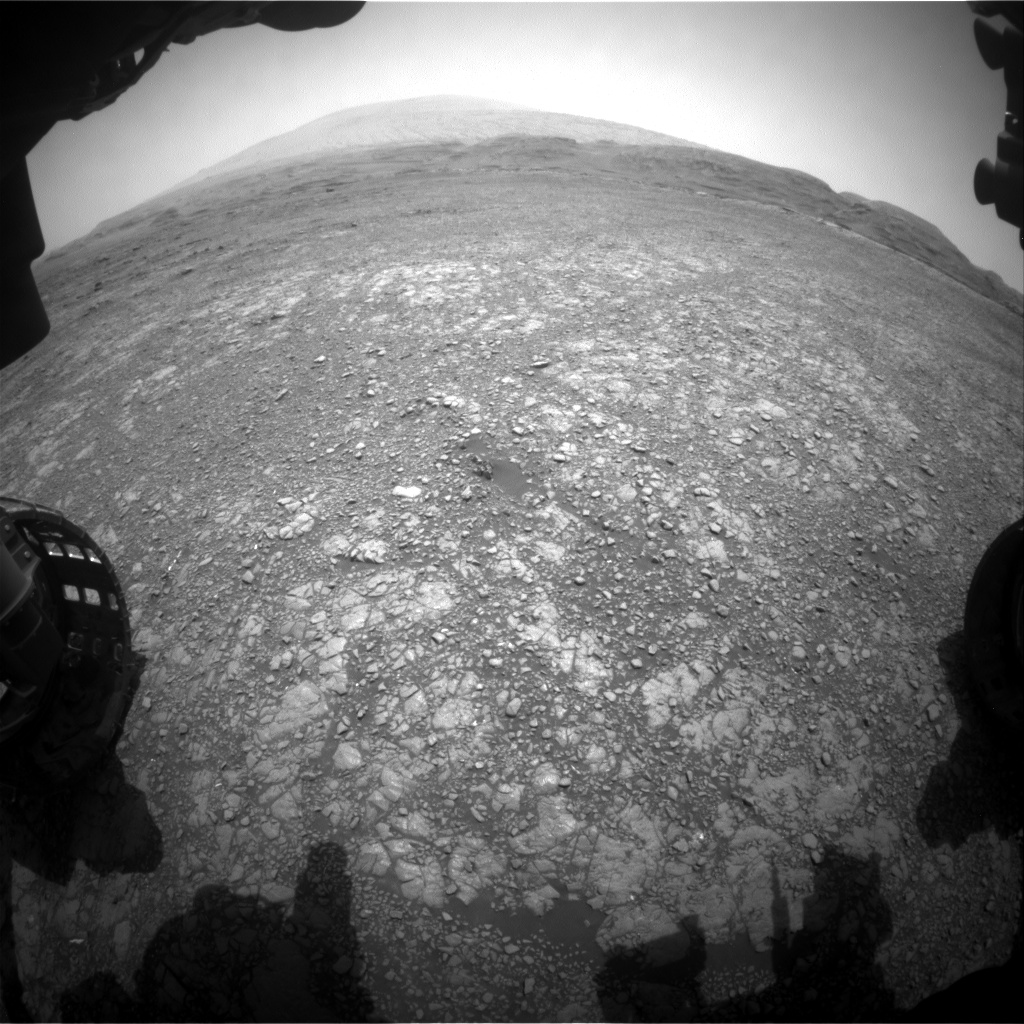 Nasa's Mars rover Curiosity acquired this image using its Front Hazard Avoidance Camera (Front Hazcam) on Sol 2960, at drive 540, site number 84