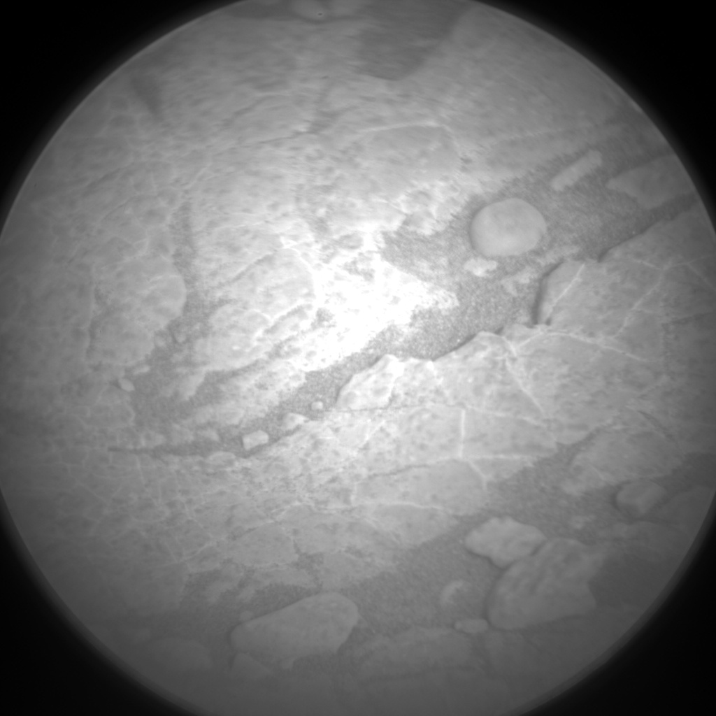 Nasa's Mars rover Curiosity acquired this image using its Chemistry & Camera (ChemCam) on Sol 2961, at drive 540, site number 84