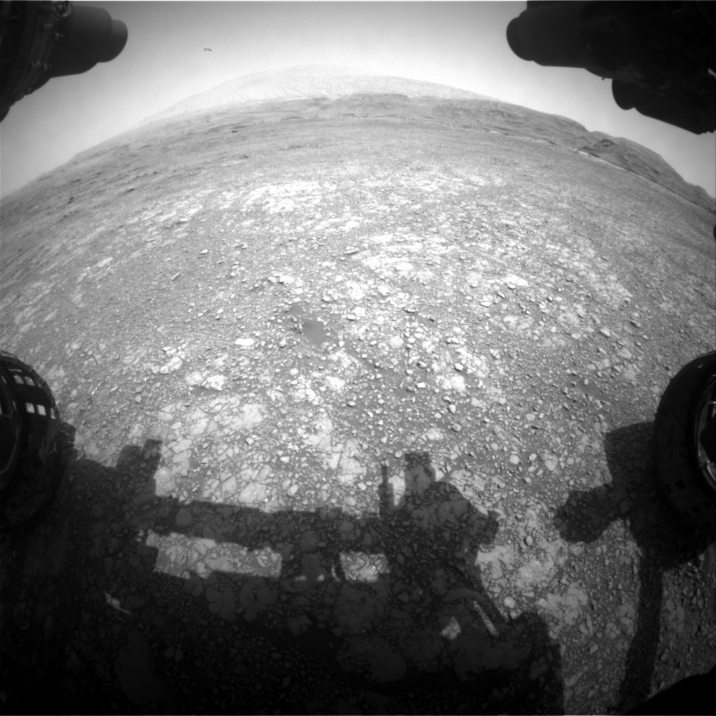 Nasa's Mars rover Curiosity acquired this image using its Front Hazard Avoidance Camera (Front Hazcam) on Sol 2961, at drive 540, site number 84
