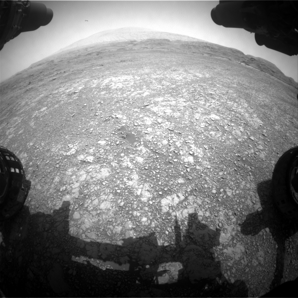 Nasa's Mars rover Curiosity acquired this image using its Front Hazard Avoidance Camera (Front Hazcam) on Sol 2963, at drive 540, site number 84