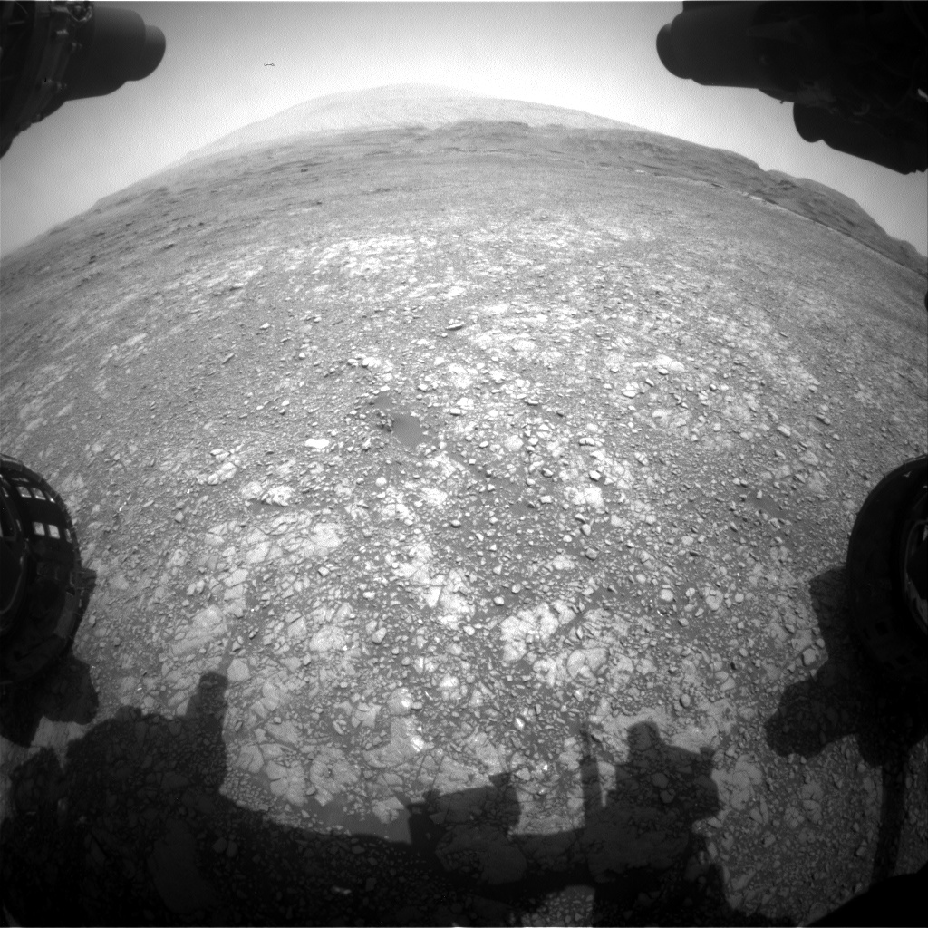Nasa's Mars rover Curiosity acquired this image using its Front Hazard Avoidance Camera (Front Hazcam) on Sol 2964, at drive 540, site number 84