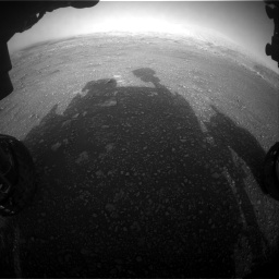 Nasa's Mars rover Curiosity acquired this image using its Front Hazard Avoidance Camera (Front Hazcam) on Sol 2965, at drive 904, site number 84
