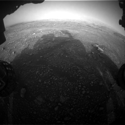 Nasa's Mars rover Curiosity acquired this image using its Front Hazard Avoidance Camera (Front Hazcam) on Sol 2965, at drive 988, site number 84