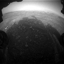 Nasa's Mars rover Curiosity acquired this image using its Front Hazard Avoidance Camera (Front Hazcam) on Sol 2965, at drive 1006, site number 84