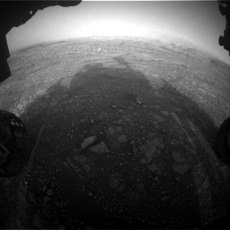 Nasa's Mars rover Curiosity acquired this image using its Front Hazard Avoidance Camera (Front Hazcam) on Sol 2965, at drive 1012, site number 84