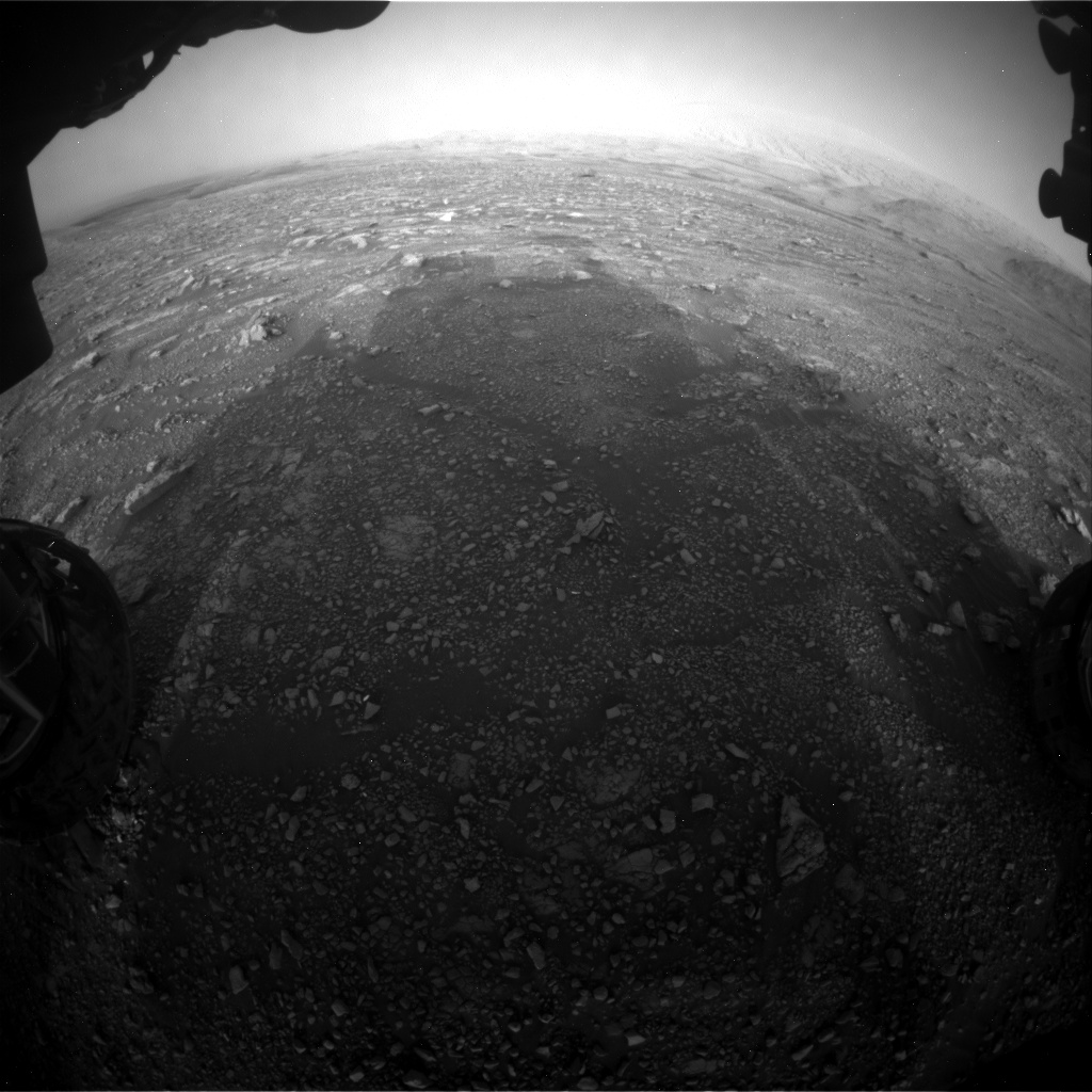 Nasa's Mars rover Curiosity acquired this image using its Front Hazard Avoidance Camera (Front Hazcam) on Sol 2965, at drive 1030, site number 84
