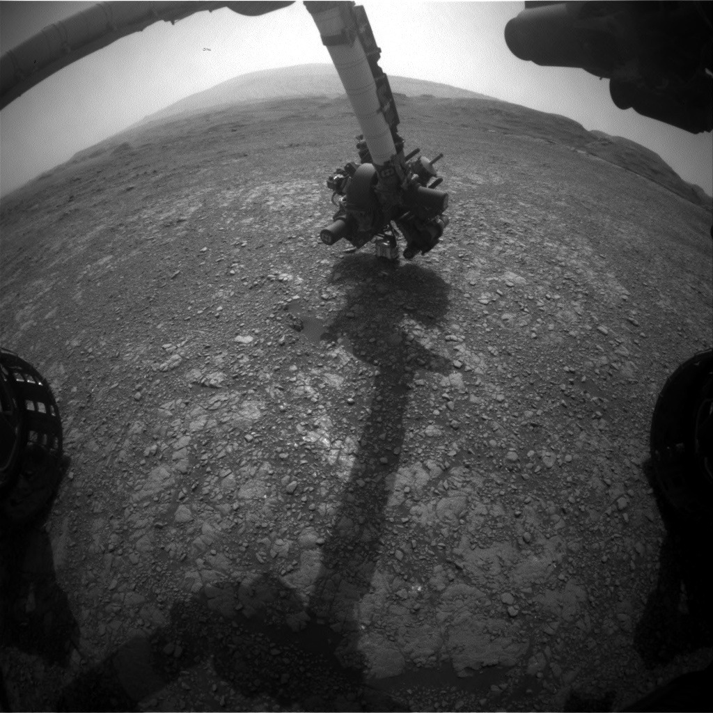 Nasa's Mars rover Curiosity acquired this image using its Front Hazard Avoidance Camera (Front Hazcam) on Sol 2965, at drive 540, site number 84