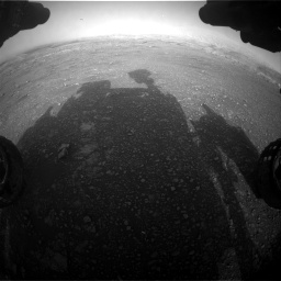 Nasa's Mars rover Curiosity acquired this image using its Front Hazard Avoidance Camera (Front Hazcam) on Sol 2965, at drive 916, site number 84