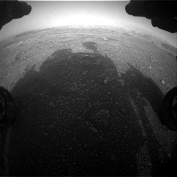 Nasa's Mars rover Curiosity acquired this image using its Front Hazard Avoidance Camera (Front Hazcam) on Sol 2965, at drive 964, site number 84