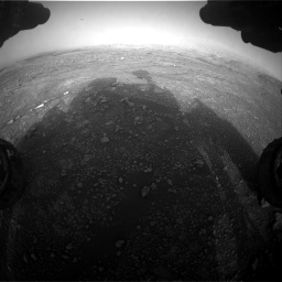 Nasa's Mars rover Curiosity acquired this image using its Front Hazard Avoidance Camera (Front Hazcam) on Sol 2965, at drive 1000, site number 84
