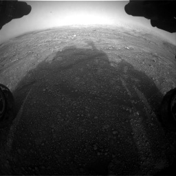 Nasa's Mars rover Curiosity acquired this image using its Front Hazard Avoidance Camera (Front Hazcam) on Sol 2965, at drive 1018, site number 84