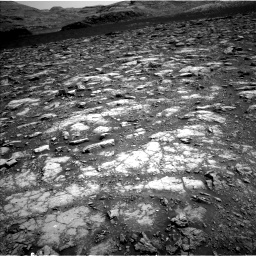 Nasa's Mars rover Curiosity acquired this image using its Left Navigation Camera on Sol 2965, at drive 810, site number 84