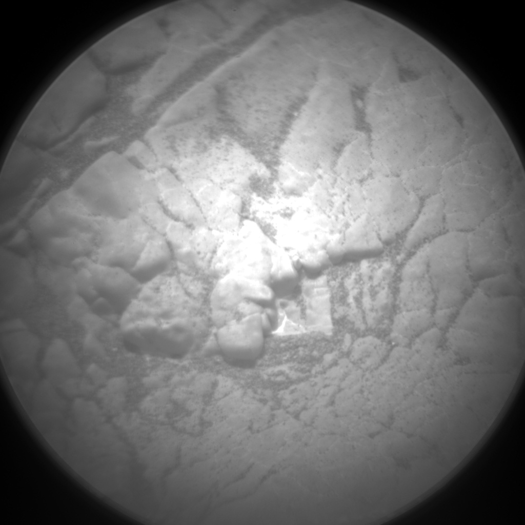 Nasa's Mars rover Curiosity acquired this image using its Chemistry & Camera (ChemCam) on Sol 2966, at drive 1030, site number 84