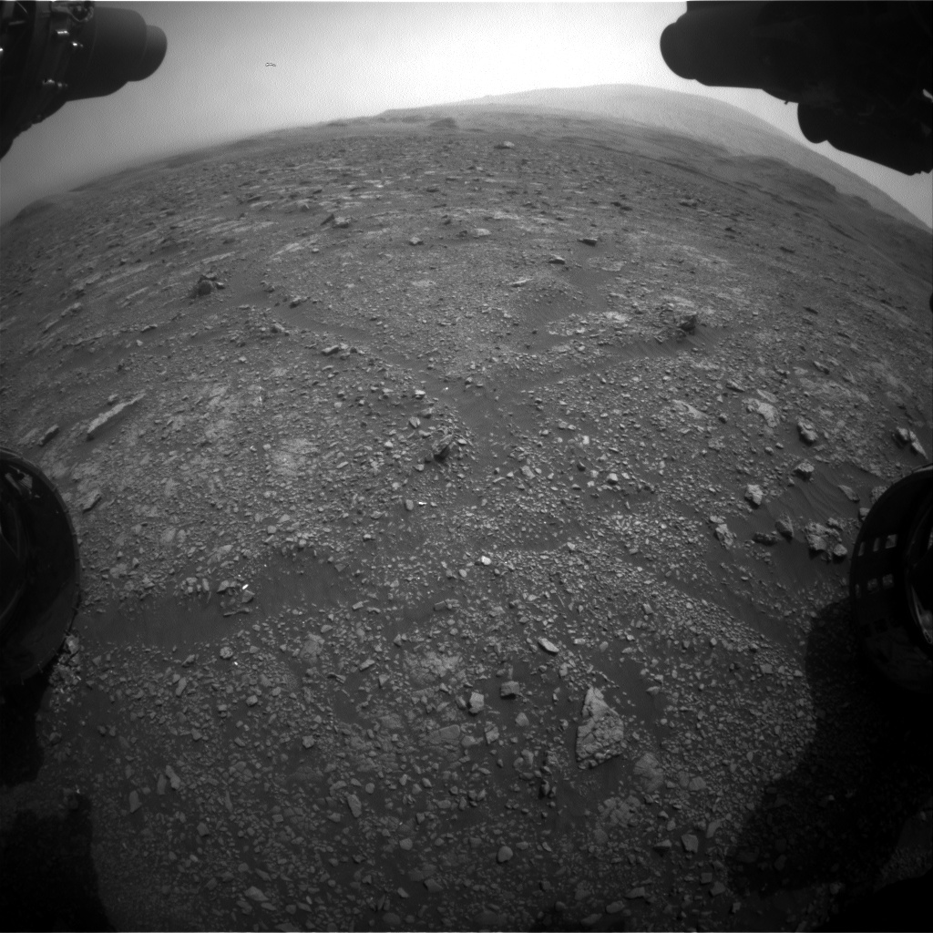 Nasa's Mars rover Curiosity acquired this image using its Front Hazard Avoidance Camera (Front Hazcam) on Sol 2966, at drive 1030, site number 84