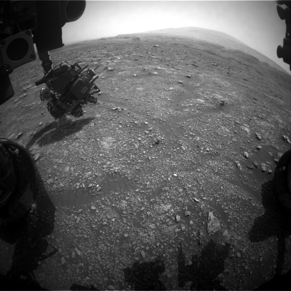 Nasa's Mars rover Curiosity acquired this image using its Front Hazard Avoidance Camera (Front Hazcam) on Sol 2967, at drive 1030, site number 84