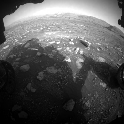 Nasa's Mars rover Curiosity acquired this image using its Front Hazard Avoidance Camera (Front Hazcam) on Sol 2967, at drive 1204, site number 84