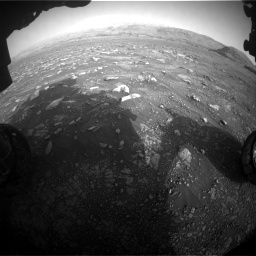 Nasa's Mars rover Curiosity acquired this image using its Front Hazard Avoidance Camera (Front Hazcam) on Sol 2967, at drive 1228, site number 84