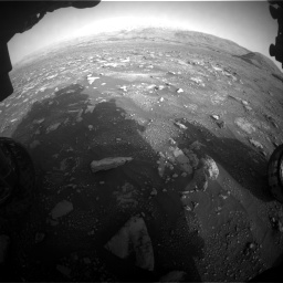Nasa's Mars rover Curiosity acquired this image using its Front Hazard Avoidance Camera (Front Hazcam) on Sol 2967, at drive 1240, site number 84