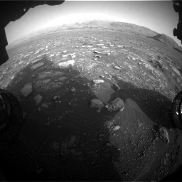 Nasa's Mars rover Curiosity acquired this image using its Front Hazard Avoidance Camera (Front Hazcam) on Sol 2967, at drive 1264, site number 84