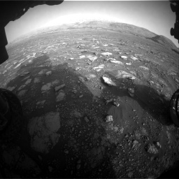 Nasa's Mars rover Curiosity acquired this image using its Front Hazard Avoidance Camera (Front Hazcam) on Sol 2967, at drive 1276, site number 84