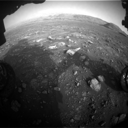 Nasa's Mars rover Curiosity acquired this image using its Front Hazard Avoidance Camera (Front Hazcam) on Sol 2967, at drive 1312, site number 84