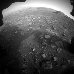 Nasa's Mars rover Curiosity acquired this image using its Front Hazard Avoidance Camera (Front Hazcam) on Sol 2967, at drive 1336, site number 84