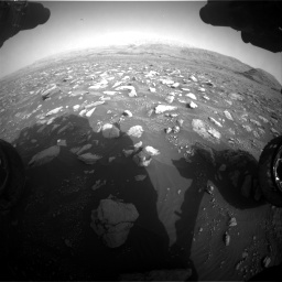 Nasa's Mars rover Curiosity acquired this image using its Front Hazard Avoidance Camera (Front Hazcam) on Sol 2967, at drive 1138, site number 84