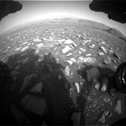 Nasa's Mars rover Curiosity acquired this image using its Front Hazard Avoidance Camera (Front Hazcam) on Sol 2967, at drive 1156, site number 84
